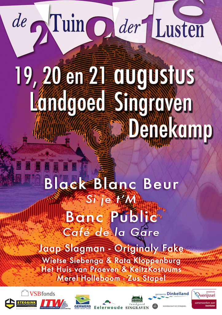 Poster de Tuin der Lusten 2010