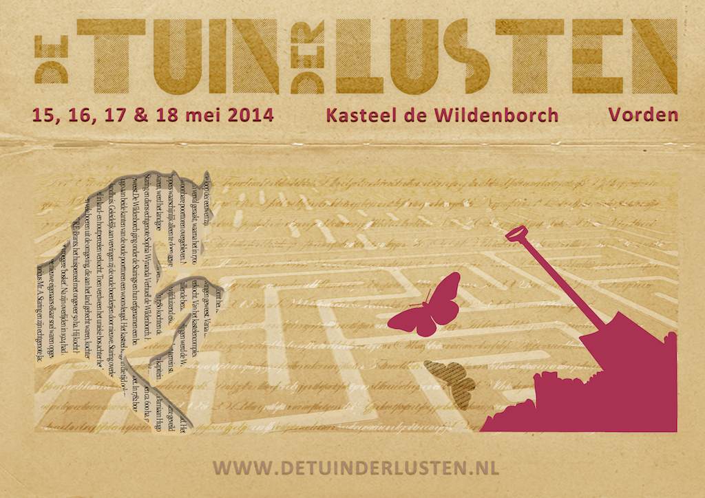 Poster de Tuin der Lusten 2014