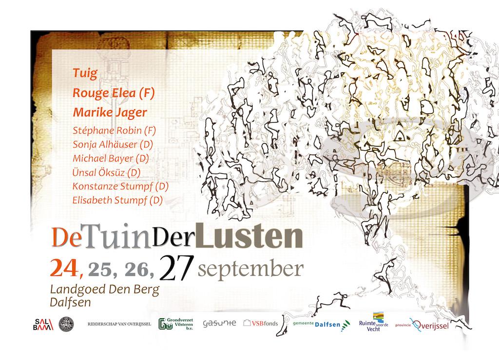 Poster de Tuin der Lusten 2009